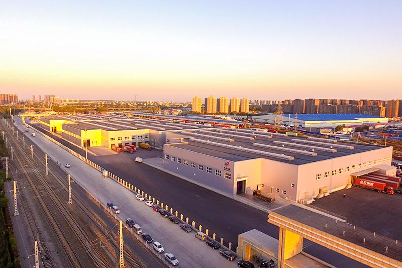 沈陽寶馬物流園倉儲工程