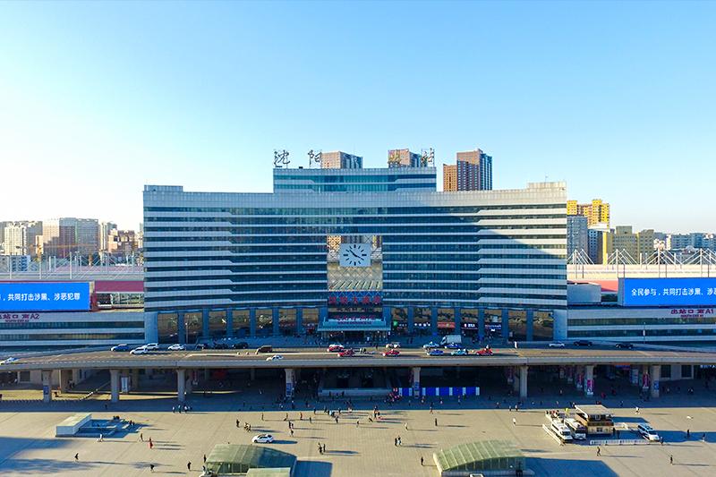 沈陽北站站臺工程