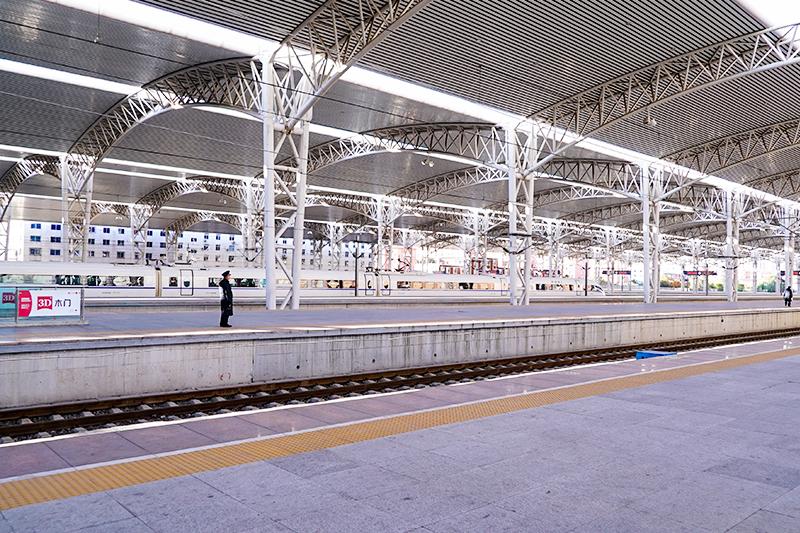 吉林火車站站臺工程