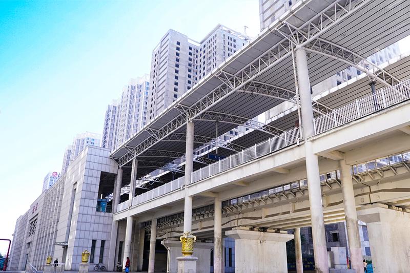 抚顺火车站站台工程