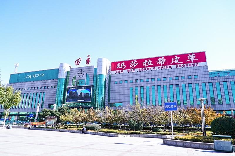 四平火车站旅客天桥工程